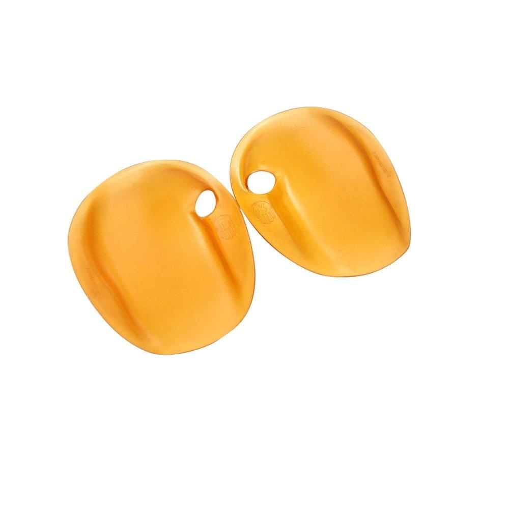 escomdpストラップレス、環境に優しい水泳Hand PaddlesフリッパーTraining Webbed Gloves , 1ペア( 100 g ) L: 20.5*17 cm  B076D53585