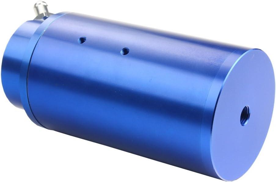Dewhel Universal Cylindrical Jdm 750 Ml Aluminium Engine Oil Catch Can Reservoir Tank Blue By Dewhel Auto