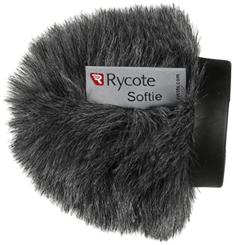 Rycote Softie, Long Hair Wind Diffusion, 5cm Long with Medium Hole, Front Only