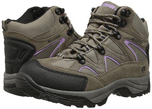 Northside Women's Snohomish Hiking Boot, Tan/Periwinkle, 7 M US by Northside (Image #6)