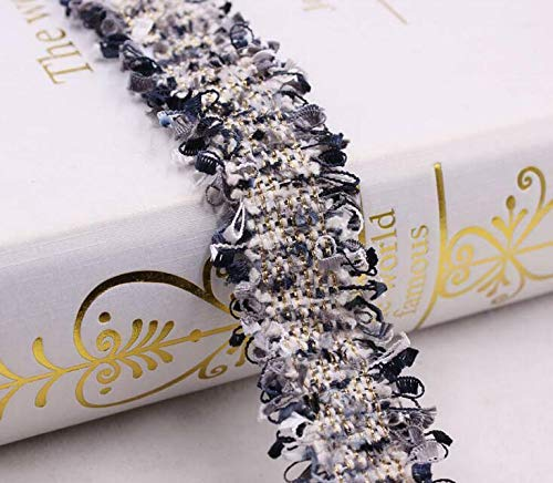2 Yards Lace Toothbrush Tassel DIY Jewelry Bow Collar Lace Clothing Accessories (Color - ()