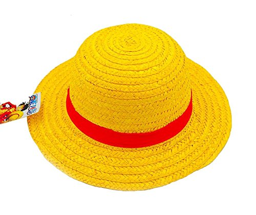 Gumstyle One Piece Monkey D. Luffy Anime Cosplay Costume Straw Hat Sun Cap (Hat Luffy)
