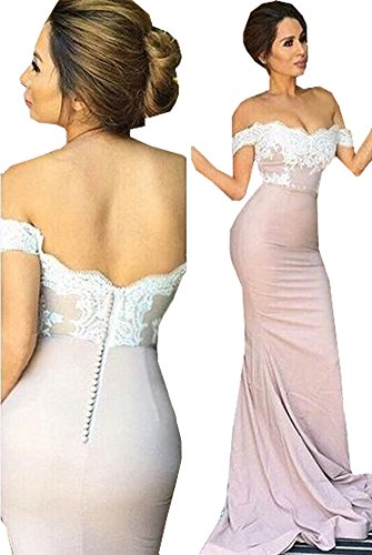 fitted backless mermaid dress - 2