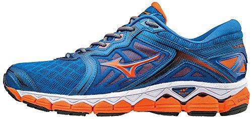 Azul de para Running Mizuno Zapatillas Sky Wave Hombre qx7A8HfA