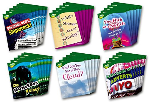 Oxford Reading Tree: Stage 12: TreeTops Non-fiction: Pack (36 Books, 1 of Each Title) pdf epub