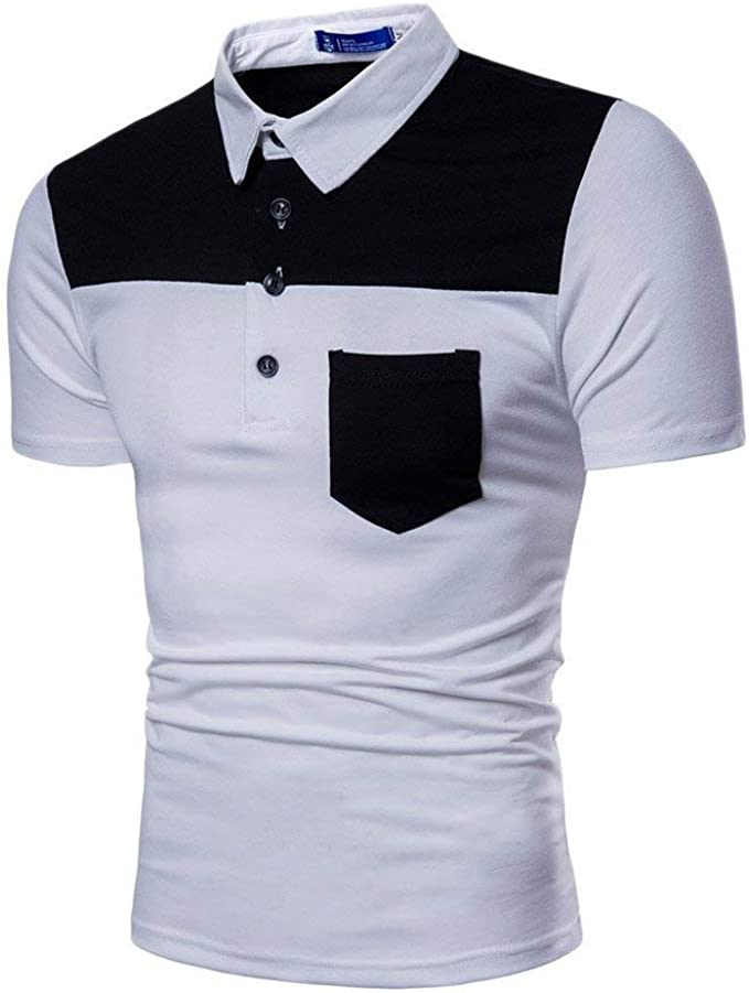 Camisa De Polo para Hombre Verano Solapa Manga Mode De Marca Polos ...