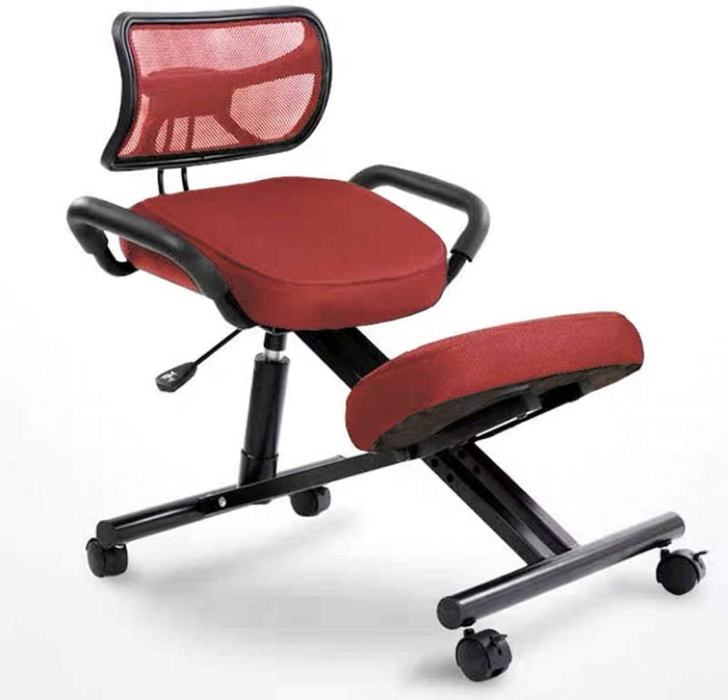 Amazon Com Sxq Home Office Desk Chair Computer Desk Chair Ergonomic Desk Chair Kneeling Chair For Correcting Sitting Posture Many Colors Color Red Furniture Decor