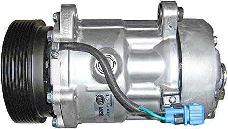 BEHR HELLA SERVICE 8FK 351 127-021 Compresor, aire acondicionado: Amazon.es: Coche y moto