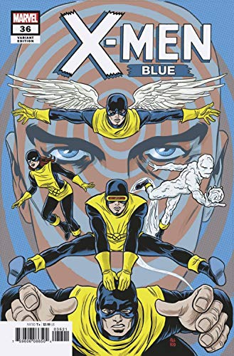 X MEN BLUE #36 ALLRED FINAL ISSUE VAR ()