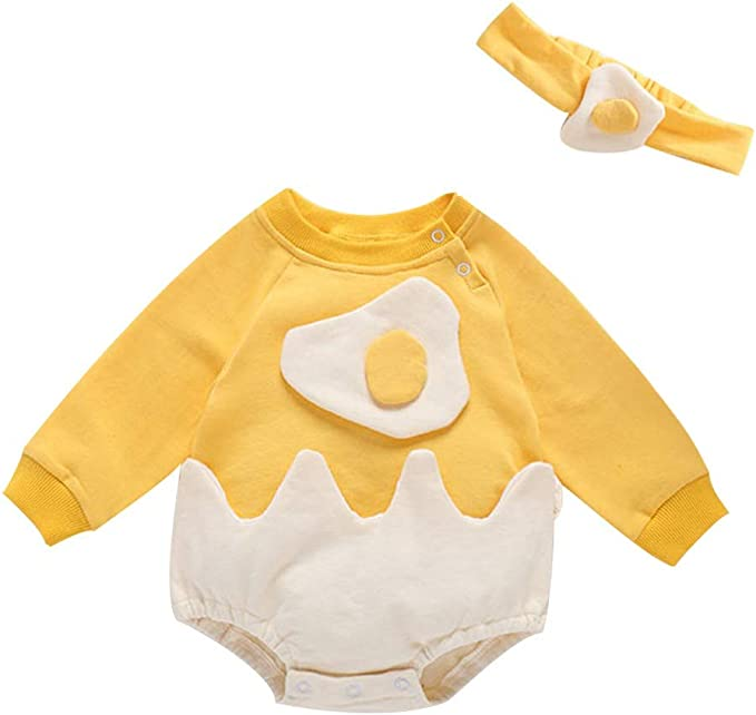 Infant Toddler Flying Eagle Print Long Sleeves Romper Casual Clothes Outfit Set