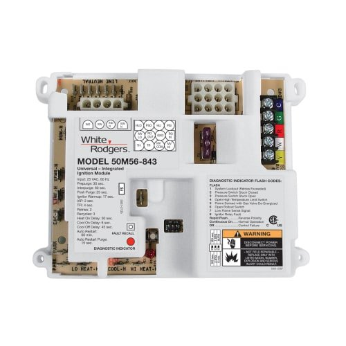 White-Rodgers 50M56U-843 White Rodgers Universal Integrated Control by White-Rodgers