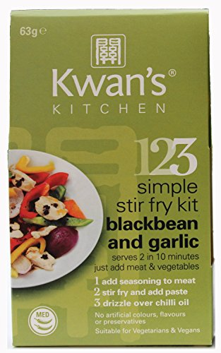 Kwan S Kitchen Blackbean Amp Garlic Stir Fry Meal Kit 63g Pack Of 6 Buy Online In Angola At Angola Desertcart Com Productid 23814977