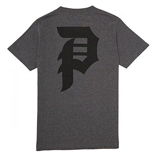 Primitive Men's Dirty P SS T Shirt Charcoal Gray