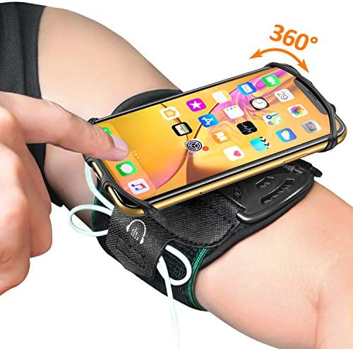 Running Armband Comsoon Rotatable Jogging