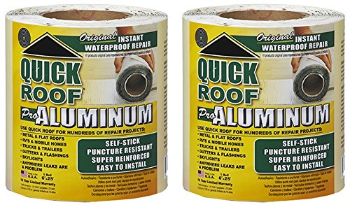 Quick Roof Self Stick Instant Waterproof Repair And Flashing Wood 6