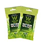 Maven Gifts: Wireless Wipes 2-Pack Bundle – Rosemary Peppermint – Cell and Portable Electronic Device Sanitizing Wipes