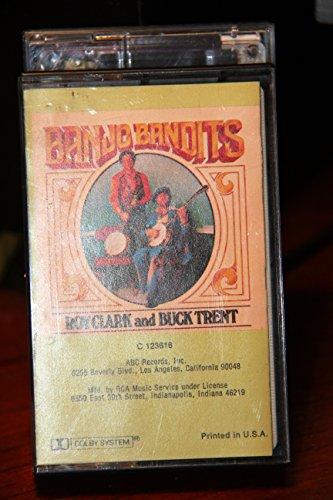 Roy Clark Banjo - Banjo Bandits - Roy Clark/Buck Trent - Audio Cassette 1978