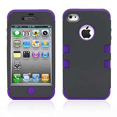 MagicMobile For AppleiPhone 4 4S Hybrid Impact Case from MagicMobile