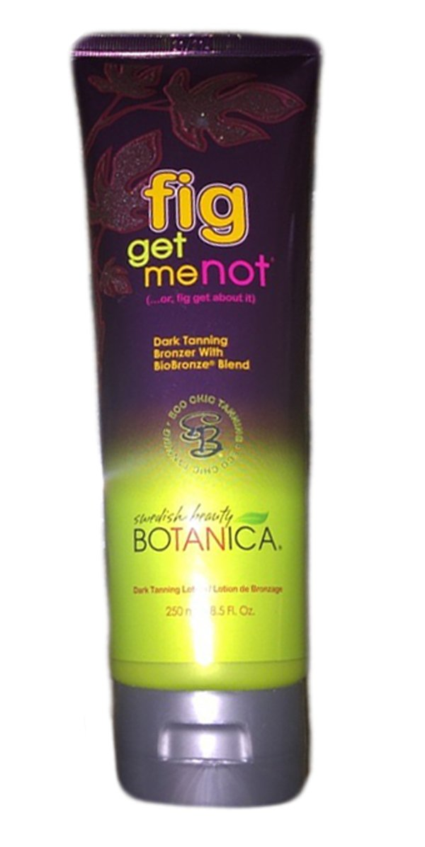 Swedish Beauty FIG GET ME NOT Bronzer Tanning Bed Lotion 8.5 oz