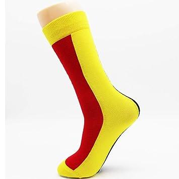 LILIKI@ Calcetines Coloridos Sin Costuras De Algodón para Hombres Calcetines Deportivos Calcetines Frescos De Hip Hop Hombres (4 Pares): Amazon.es: Deportes ...
