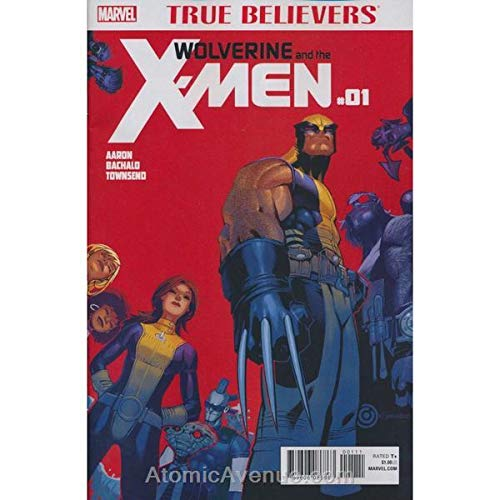 Wolverine & The X-Men #1 (3rd) FN ; Marvel comic -