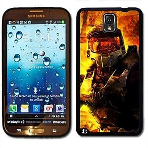 Samsung Galaxy Note 3 Black Rubber Silicone Case - Halo Master Chief Halo 4 Reach Alien game by icecream design