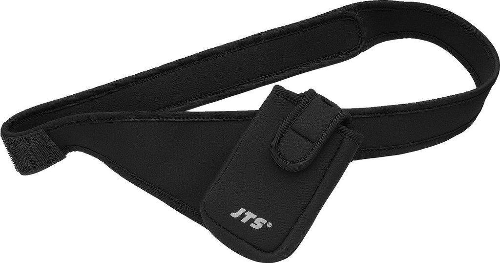Jts Bag Sac de ceinture//L /Étui de ceinture pour /émetteur de poche sans fil Noir