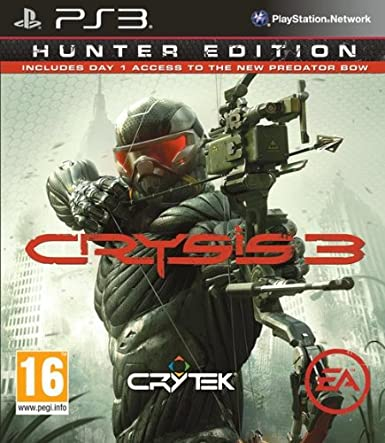 Crysis 3 - Hunter Edition (PC DVD): Amazon co uk: PC & Video