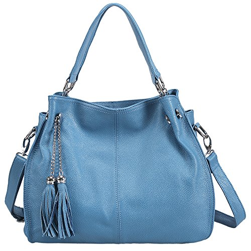 Sonyabecca Leather Hobo Handbags for Women