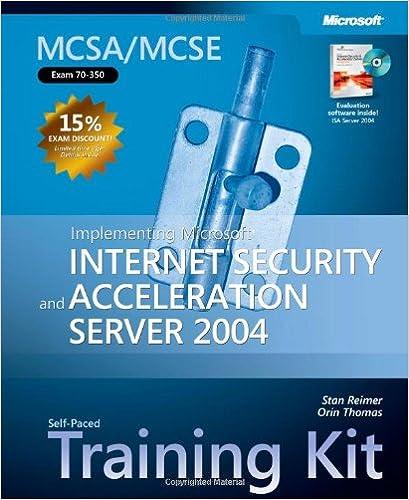 Isa Server Pdf