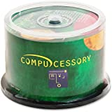 Compucessory CD Recordable Media - CD-R - 52x - 700 MB - 50 Pack Spindle - 120mm1.33 Hour Maximum Recording Time