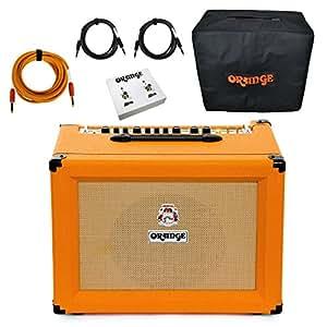 orange crush pro cr60c 1x12 combo amp guitar amplifier 60 watts bundle cover etc. Black Bedroom Furniture Sets. Home Design Ideas