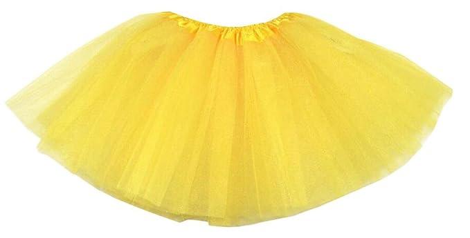 Hotportgift - Mini Falda de Ballet con Encaje de Organza, para ...