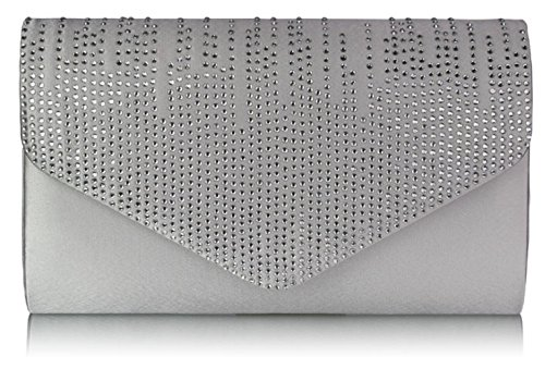 Party Evening CWE00299 Bag Diamante Ladies Ivory Over Design Fashion Flap E0070 Designer Clutch Purse Women's CWE0070 Quality FgqzxqWAwY