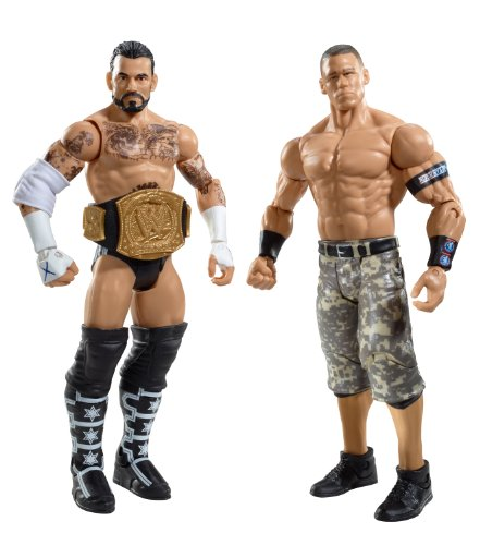 WWE CM Punk and John Cena Figure 2-Pack Series 17 (Cm Wwe Figure Punk)