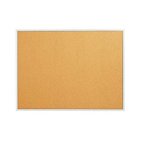 - Staples 1682312 Standard Cork Bulletin Board Aluminum Finish Frame 2'W x 1.5'H