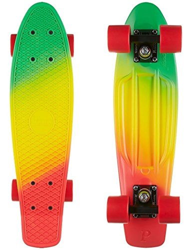 Penny Nickel Fade Complete Skateboard, Jammin, 27