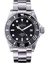 Davosa Swiss Made Men Watch, Automatic Analog Ternos Professional 16155950 for 500m Dives, Stainless Steel Wrist...