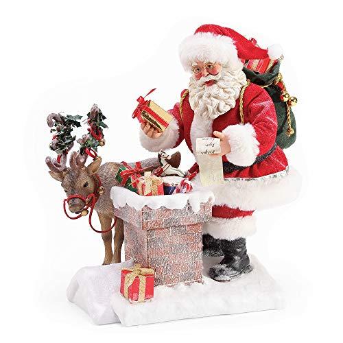 (Department 56 Possible Dreams Santas Rooftop Magic Figurine, 11
