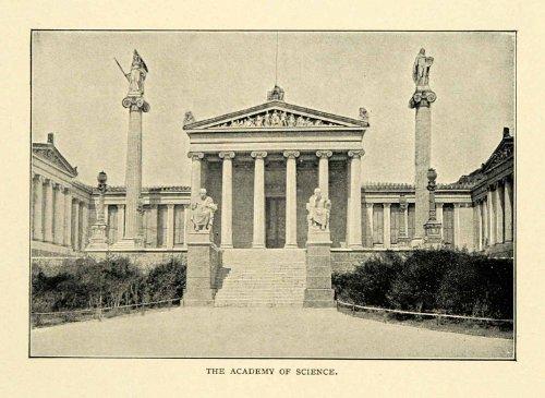 1901-print-academy-science-athens-plato-theophil-hansen-sinas-ziller-griepenkerl-original-halftone-p