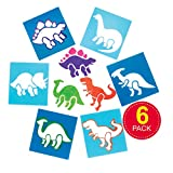 Baker Ross Dinosaur Stencil Set for Arts and Crafts