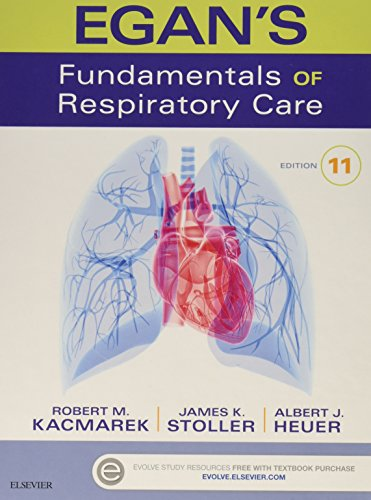 Egan's Fundamentals of Respiratory Care - Textbook and Workbook Package, 11e by Mosby