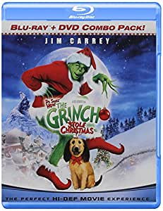 amazoncom dr seuss how the grinch stole christmas blu
