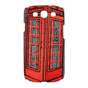 Custom Your Own Personalized Red Vintage London British Telephone Booth SamSung Galaxy S3 I9300 Case 3D Best Durable Back Cover