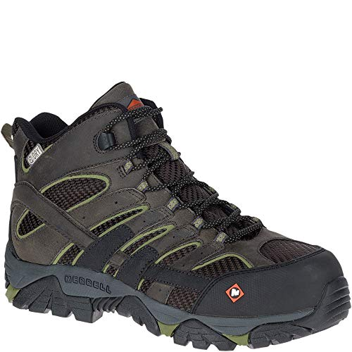 Merrell Moab 2 Vent Mid Waterproof Comp Toe Work Boot Men 10 ()