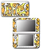 Gudetama Cute Lazy Depressed Egg Hello Kitty Video Game Vinyl Decal Skin Sticker Cover for Original Nintendo 3DS XL System