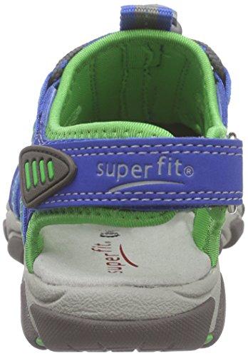 SuperfitOCTOPUSS - sandalias cerradas Niños Azul - Blau (BLUET KOMBI 85)