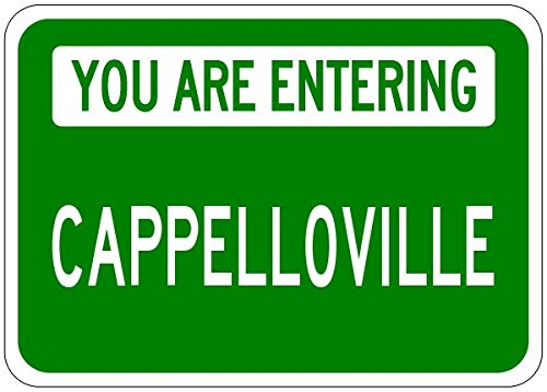 Cappello Green - You Are Entering CAPPELLOVILLE - Customized