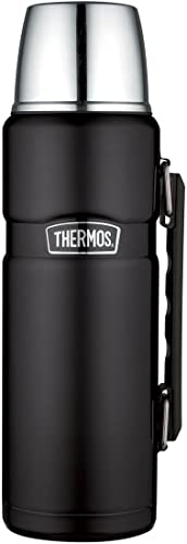 Thermos-Stainless-King-40-Ounce-Beverage-Bottle,-Matte-Black