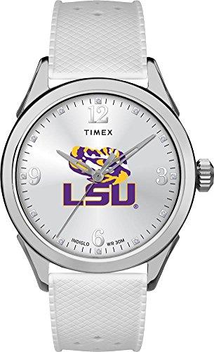 Timex LSU Tigers Louisiana State Ladies Silcone Athena Watch ()